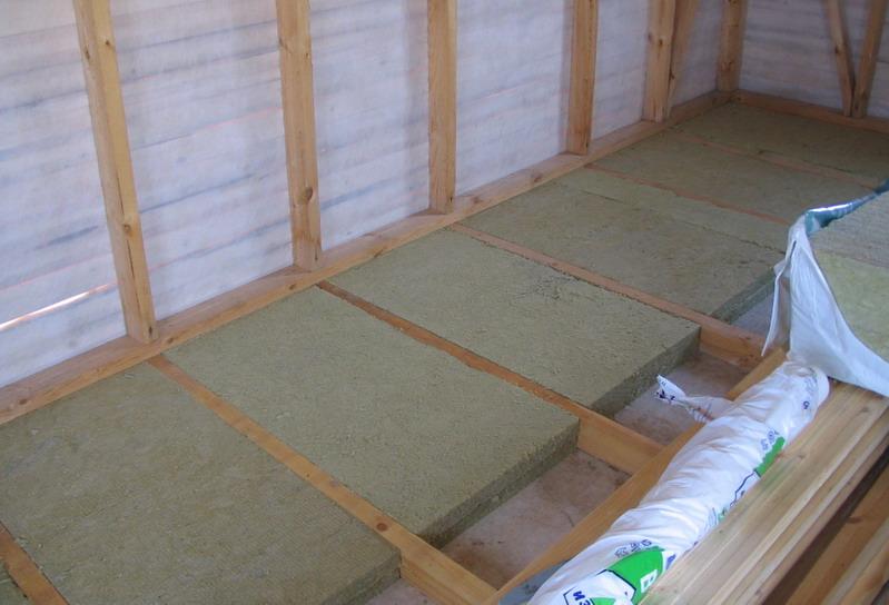 Floor Insulation In The Apartment