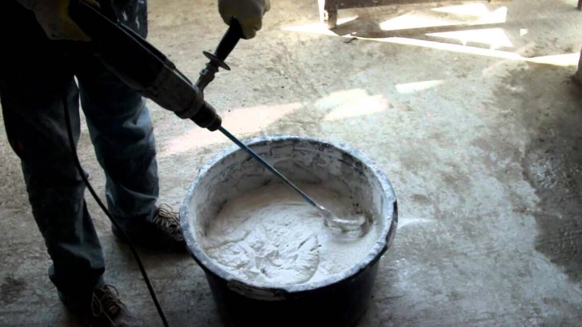 как приготовить штукатурку из цемента и песка
