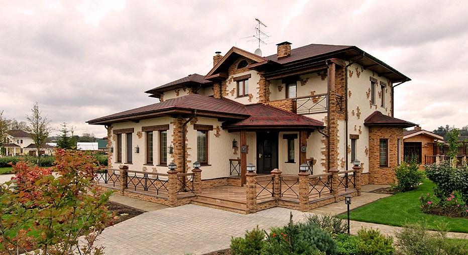 Ház külső dekoráció